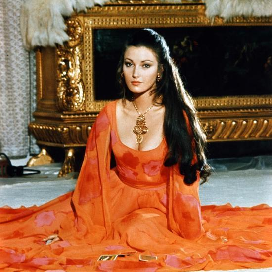 Jane Seymour in  Live and Let Die , in the days before Zales and Crepe Erase.