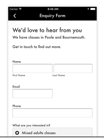 CUSTOM FORMs - Generate customer feedback, take appointment/reservation requests, and gather info from users.