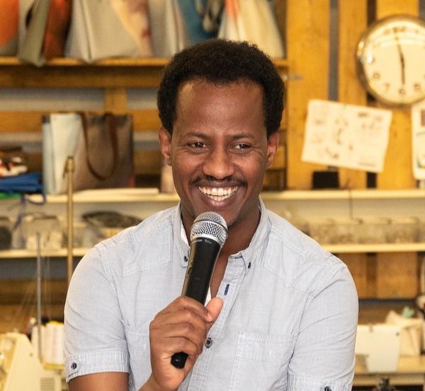 Dawit Amanuel, Foto: Gabrian van Houdt