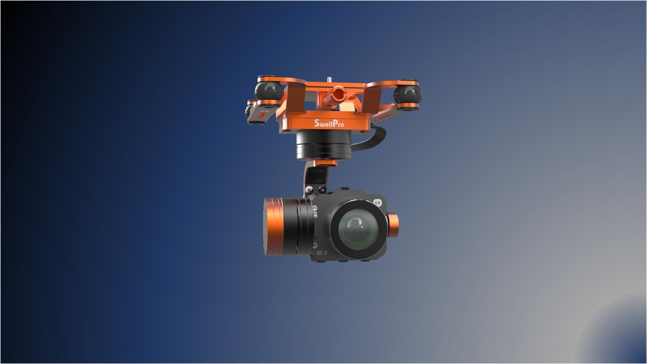 SwellPro SplashDrone 4K camera GC-3