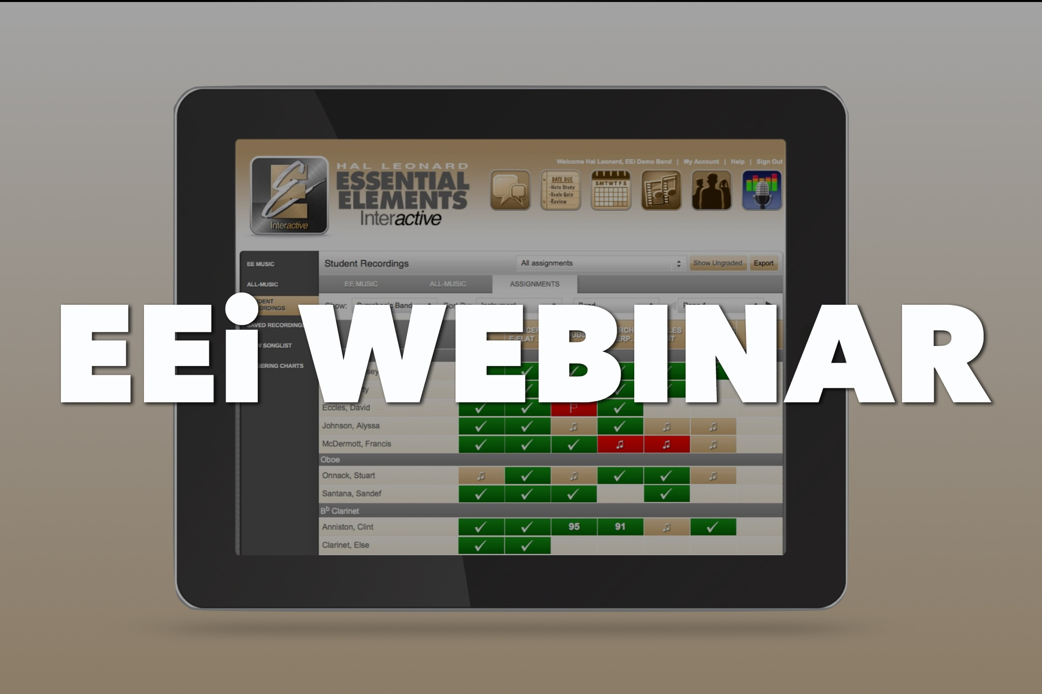 Using EEi To Keep Students on Track - In this brief 20-30 minute webinar, we will show you a variety of techniques to engage students using EEi.