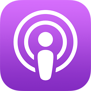 iTunes podcast app logo