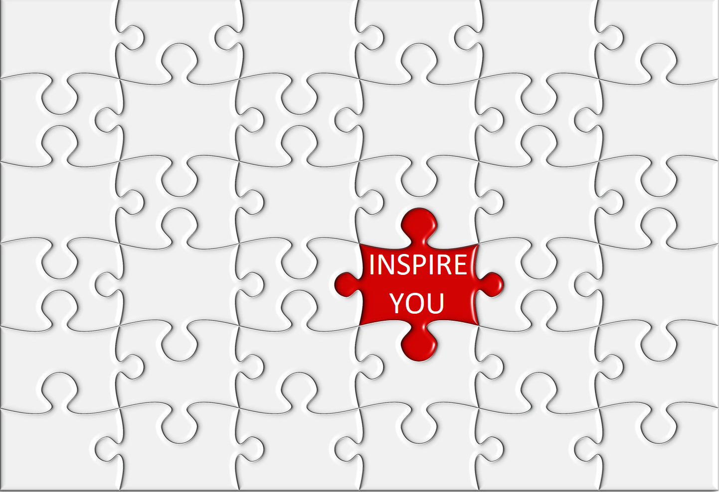 Inspire You can provide the missing piece of the jigsaw.