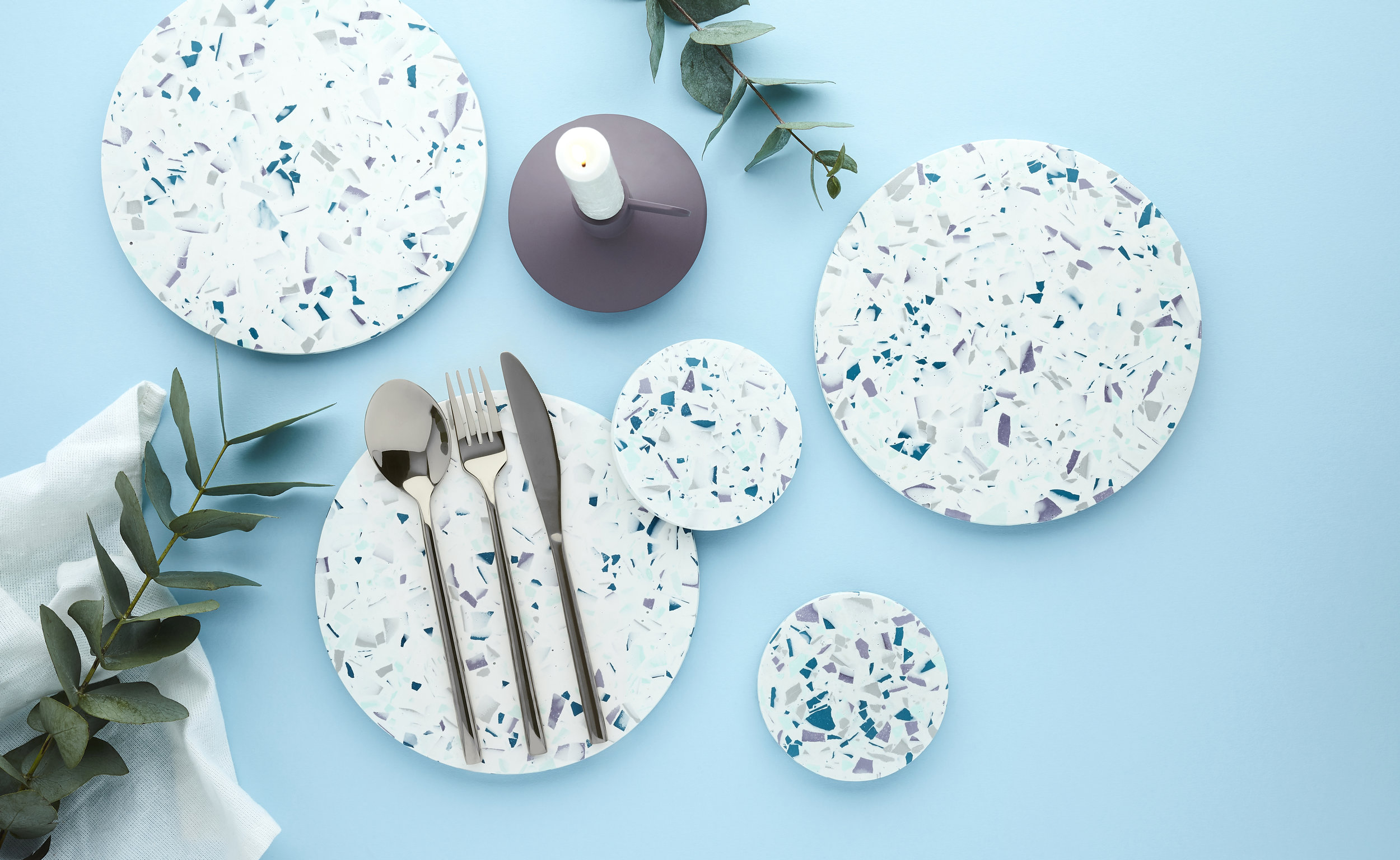 Terrazzo placemats