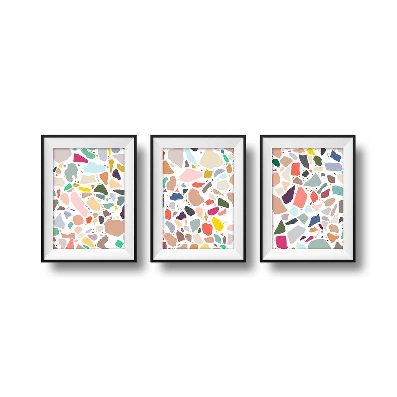 terrazzo prints