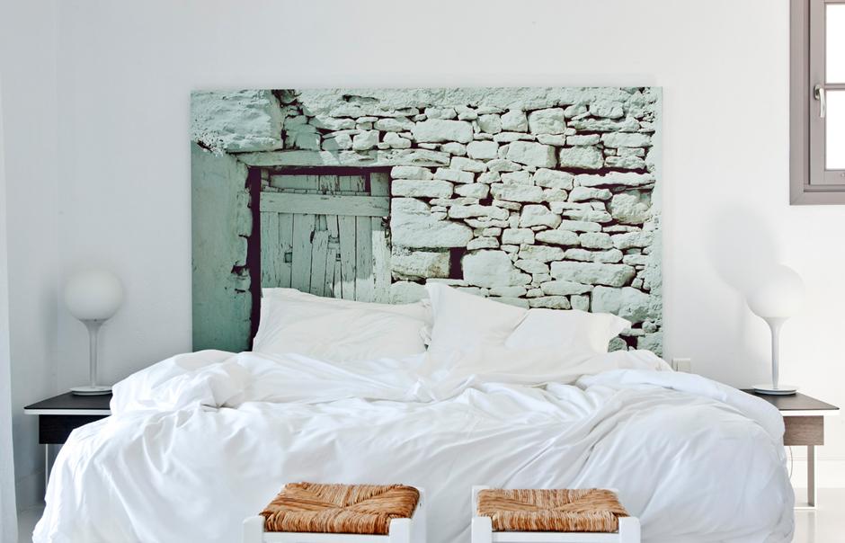 Greek islands style bedroom