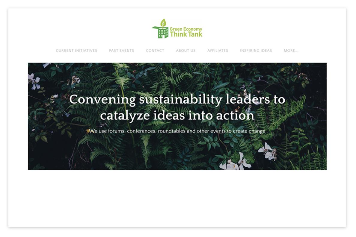 Green Economy Think Tank