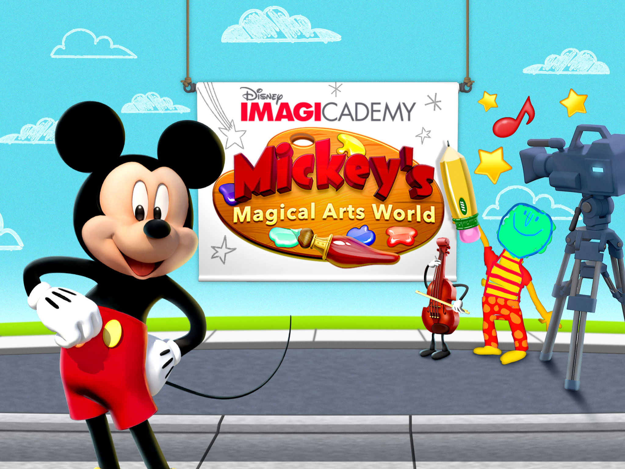 MICKEY'S MAGICAL ARTS WORLD    Learning Resources