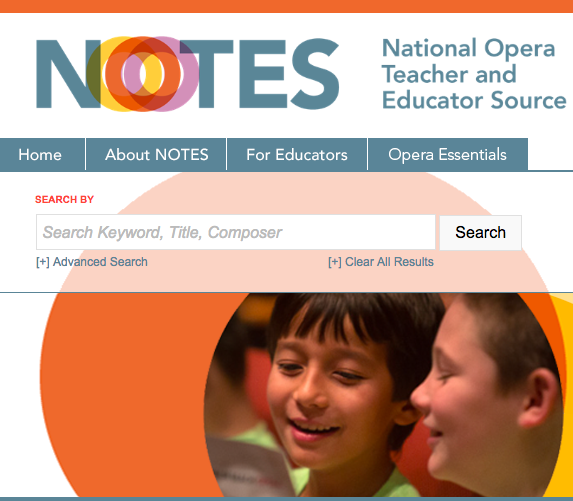 OPERA AMERICA NOTES    Learning Resources