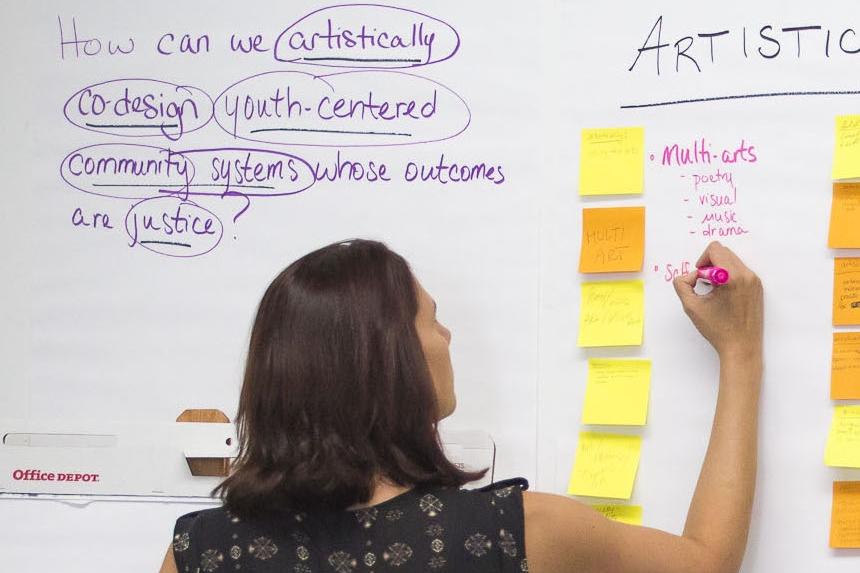 Leadership workshops in Los Angeles, September 2017.