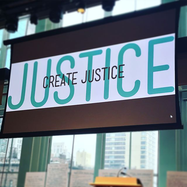 CREATE JUSTICE    Conference Production