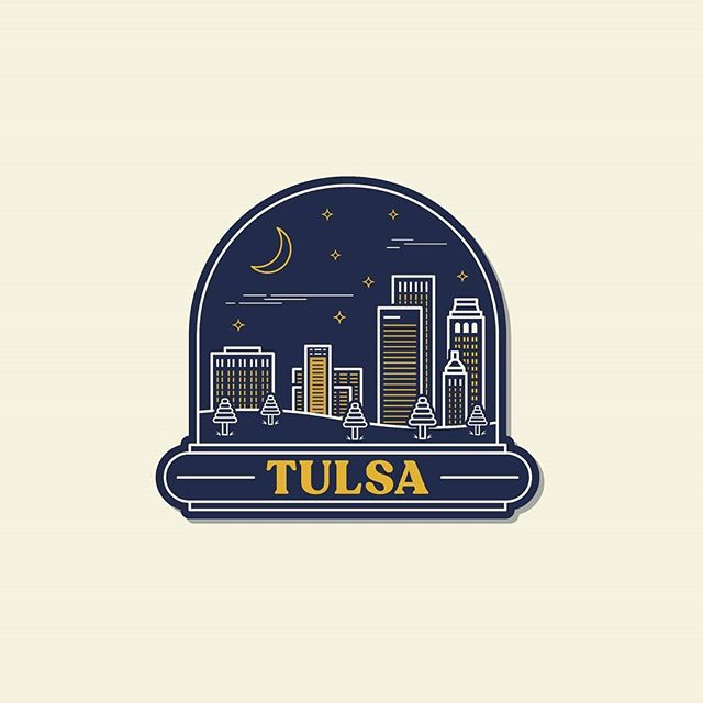 Tulsa, Oklahoma . . . . #tulsa #oklahoma #graphic #design #graphicdesign #logodesigner #designs #designer #graphicdesigner #illustrator #illustration #vector #art #vectorart #artist #artwork #artistsoninstagram #designinspiration #stickers #sticker #creative #cityskyline #skyline