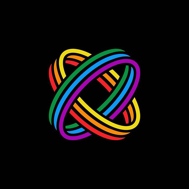 Love is love is love is... ❤ 🧡 💛 💚 💙 💜 #graphic #design #graphicdesign #logo #logos #logodesigner #designs #flatdesign #geometric #tattoo #tattooideas #illustration #illustrator #creative #art #artwork #tulsa #artist #artistsoninstagram #logoinspirations #designinspiration #vector #pridemonth #pridemonth2019 #pride