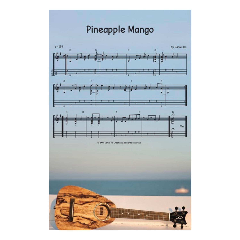 """Pineapple Mango"" sheet music: two-sided"
