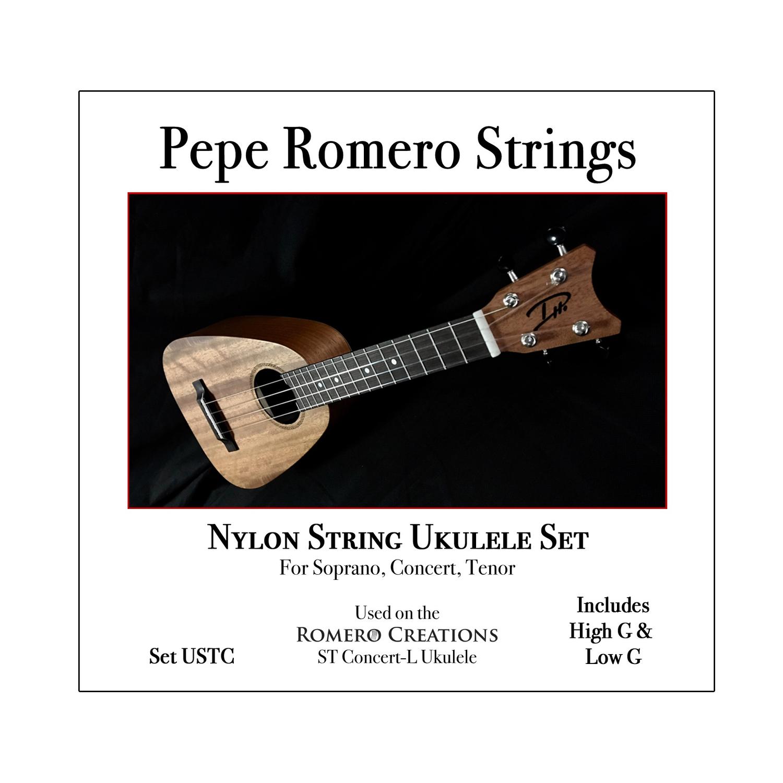 'Ukulele String Set, includes High G & Low G