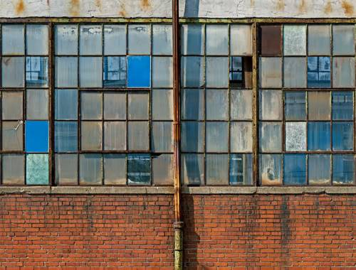 John A Chakeres,  Columbus, Painted Windows , 2008
