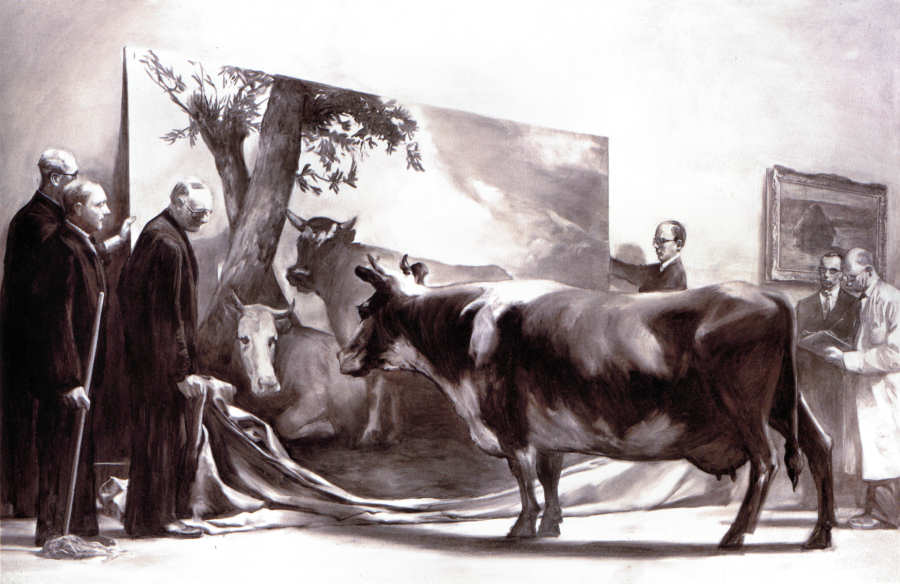 "Mark Tansey, ""The Innocent Eye Test,"" 1981"