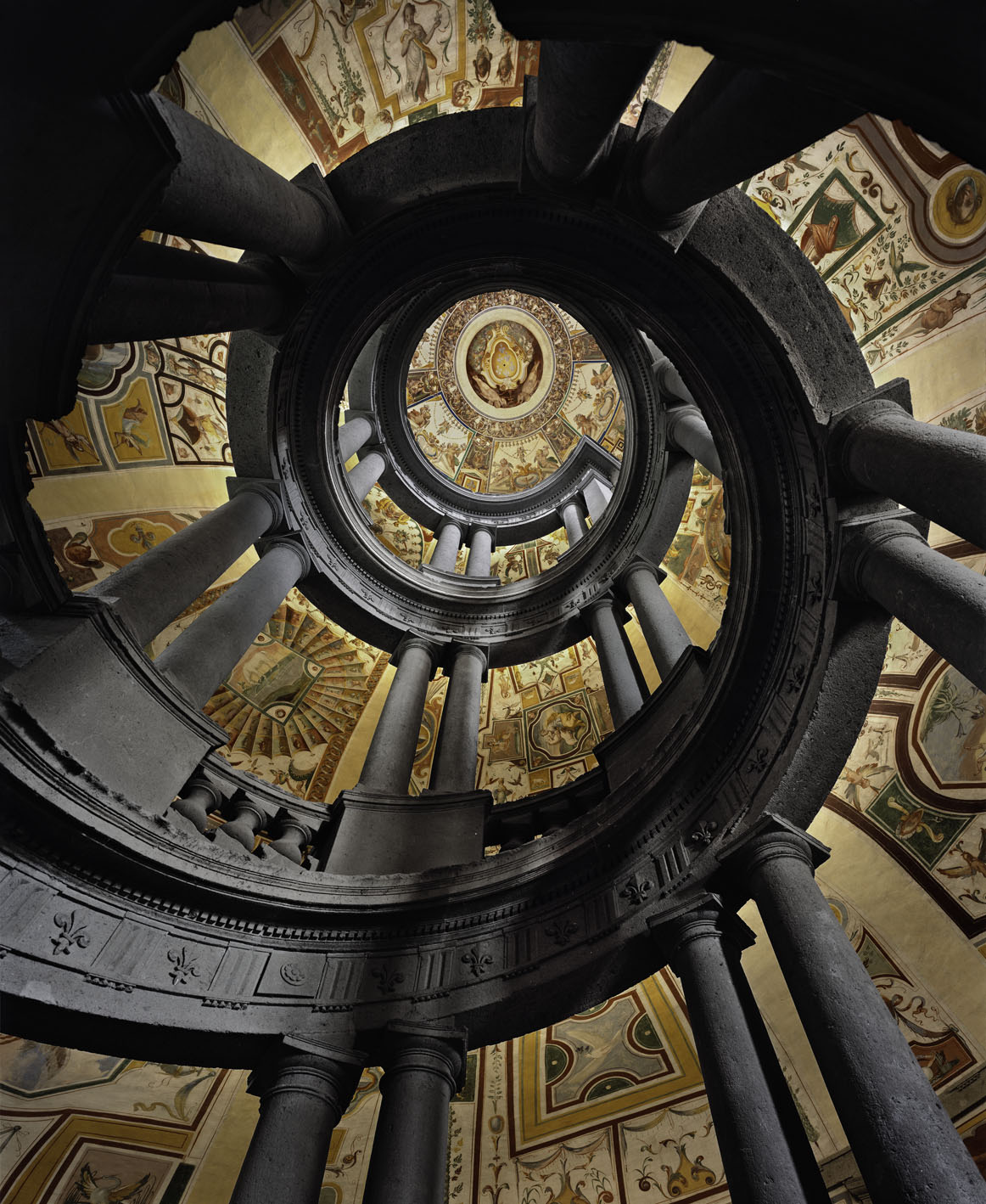 Ertug, Villa Farnese Royal Stairs, Caprorola, Italy