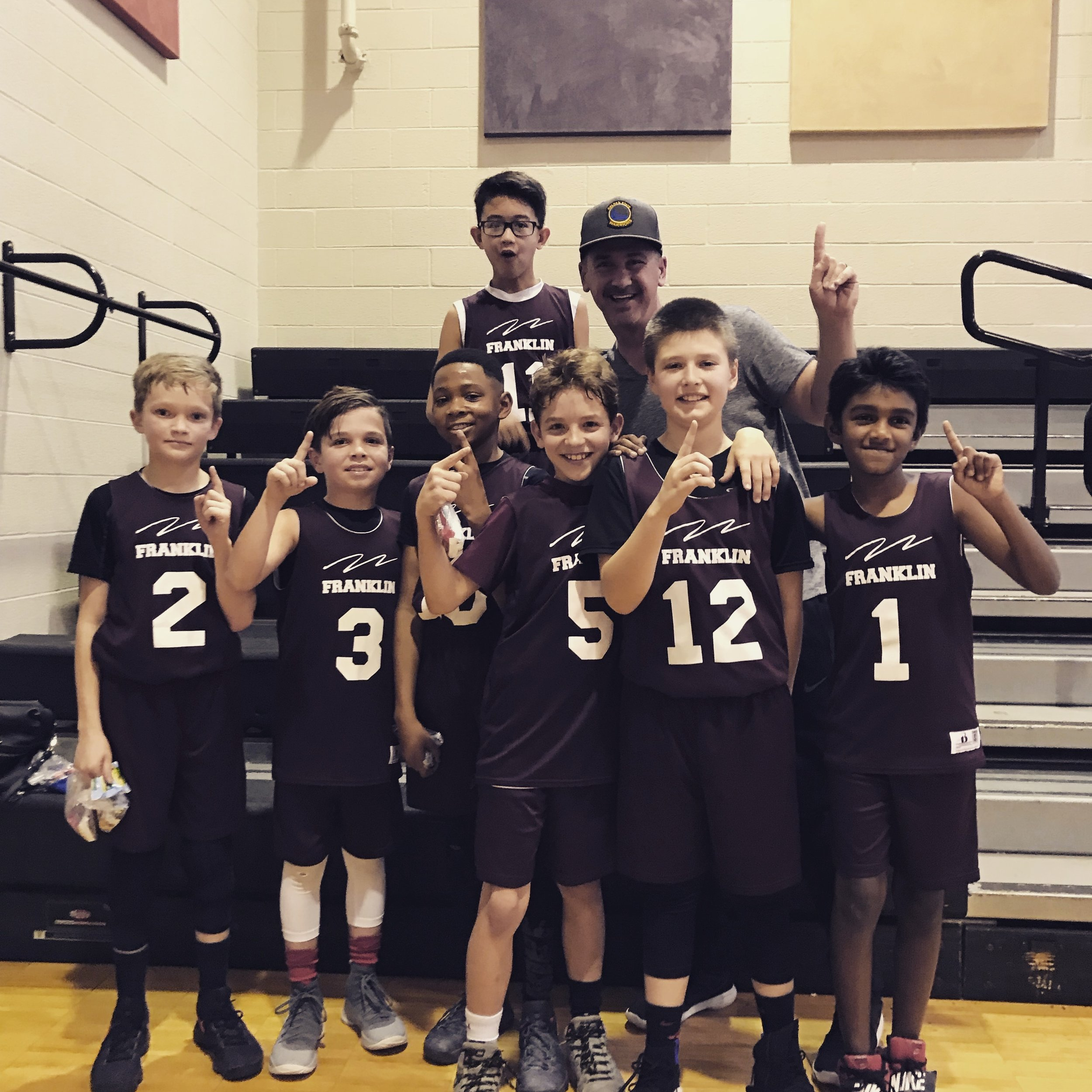 City Champs!! Even at 9 & 10 years of age these boys played with Heart, Hustle, & Joy! They began to believe their worth & value… It changes things!