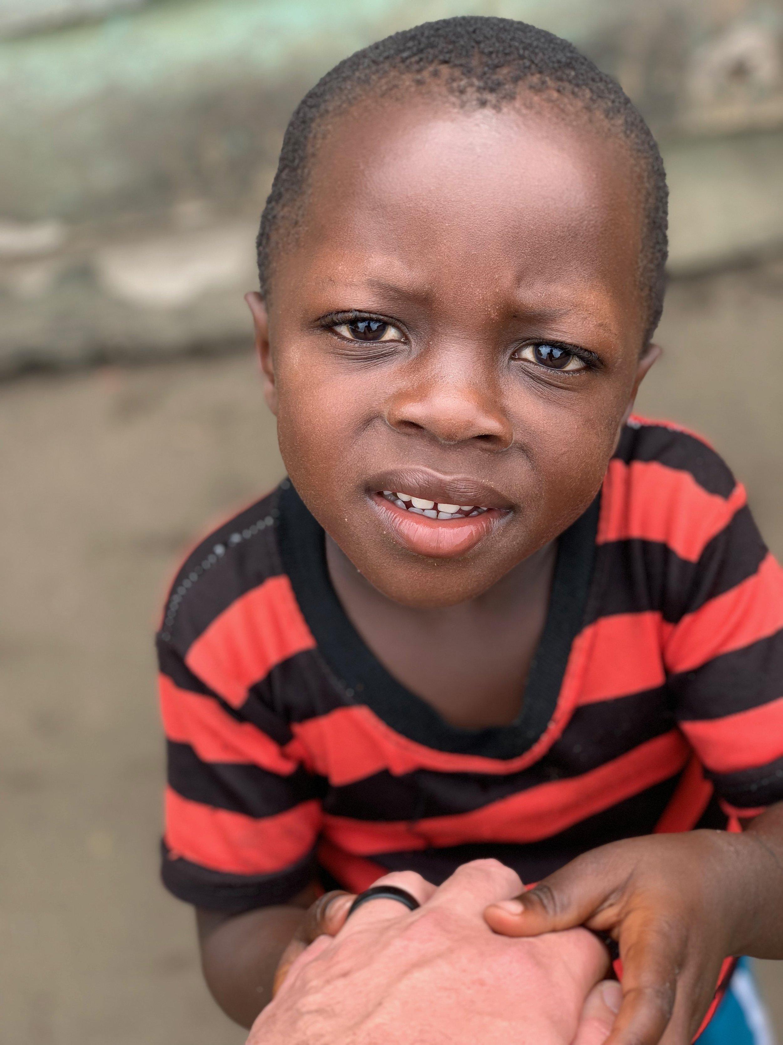 My new friend in Uganda…