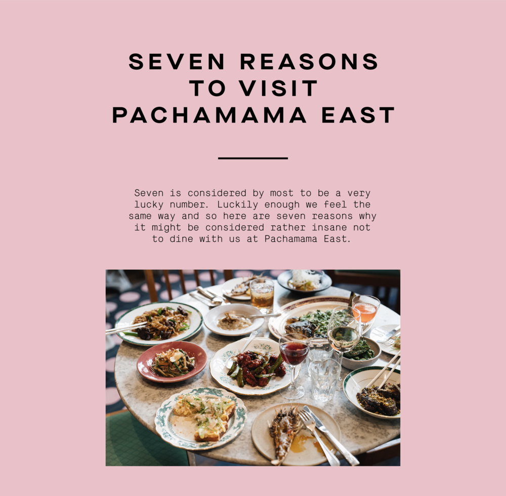 seven reasons to visit pachamama east