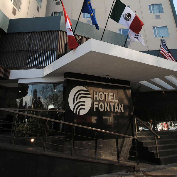 Hotel Fontan Reforma | MXN $949 aprox.