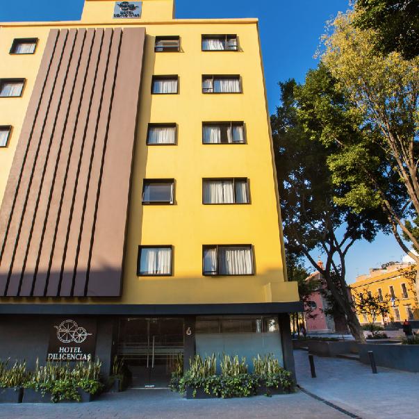 Hotel Diligencias | MXN $748 aprox.