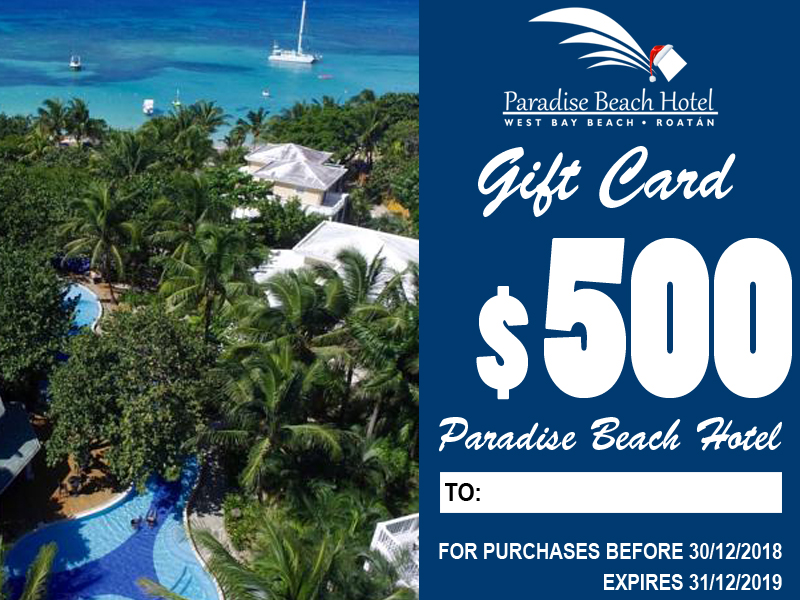 Included:    2 Nights Stay B&B for 2 persons ALL SEASONS    $50 in Activities    $50 at Cayuco Beach Bar / Restaurant    Taxes included.