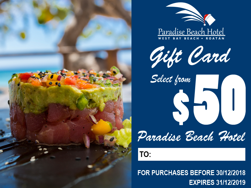 Select the amount you would like to give from $50 to $250.    Suggestions:     o Special Lunch or Dinner at Cayuco Bar & Restaurant    o Activities    For 1 person. Taxes included.