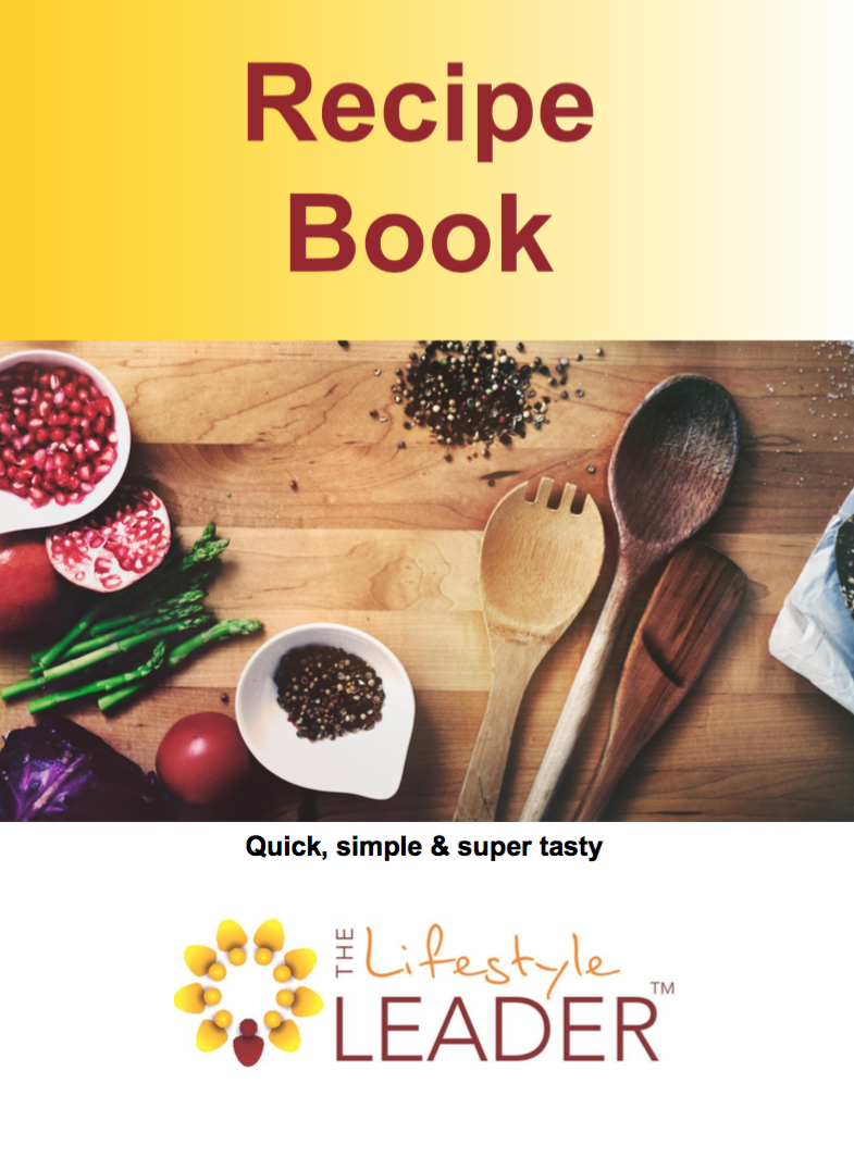 order your free recipe book now - complete the form below