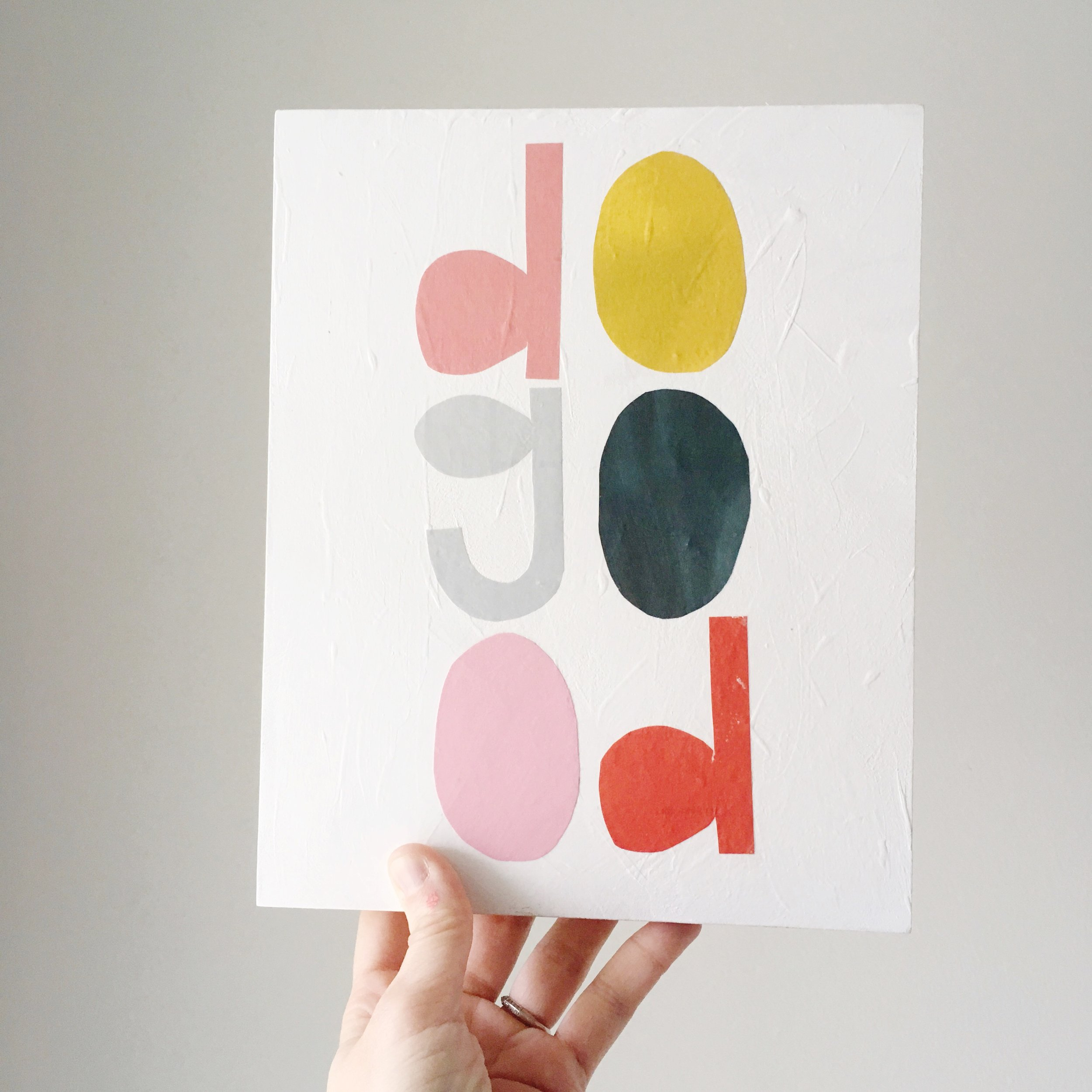 do good mantra painting colorful minimal modern by brooke petermann.JPG