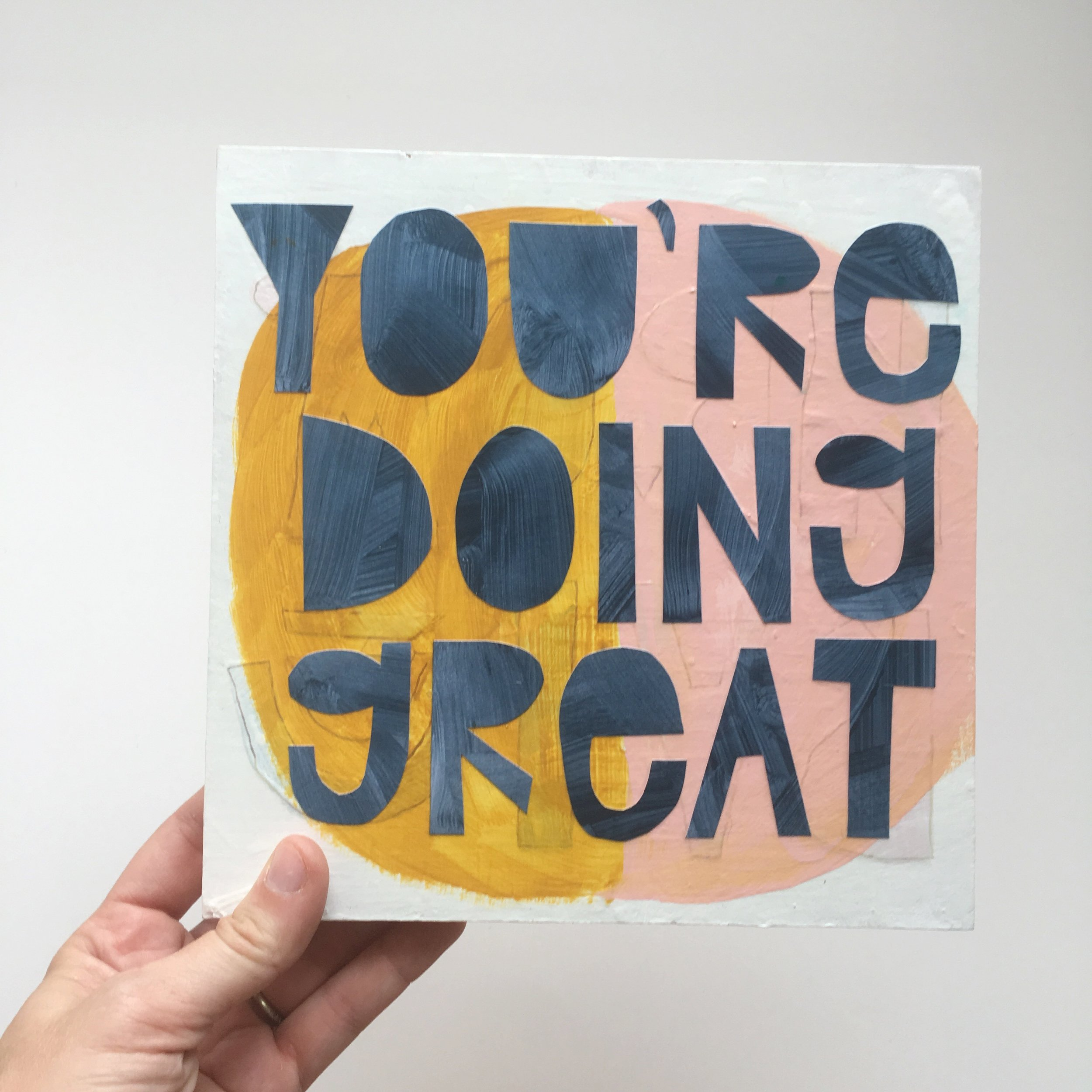 youre doing great painting by brooke petermann.JPG