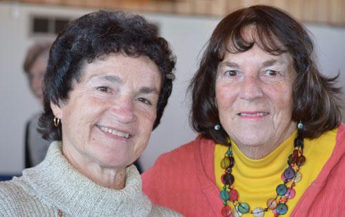 Two Lady Volunteers