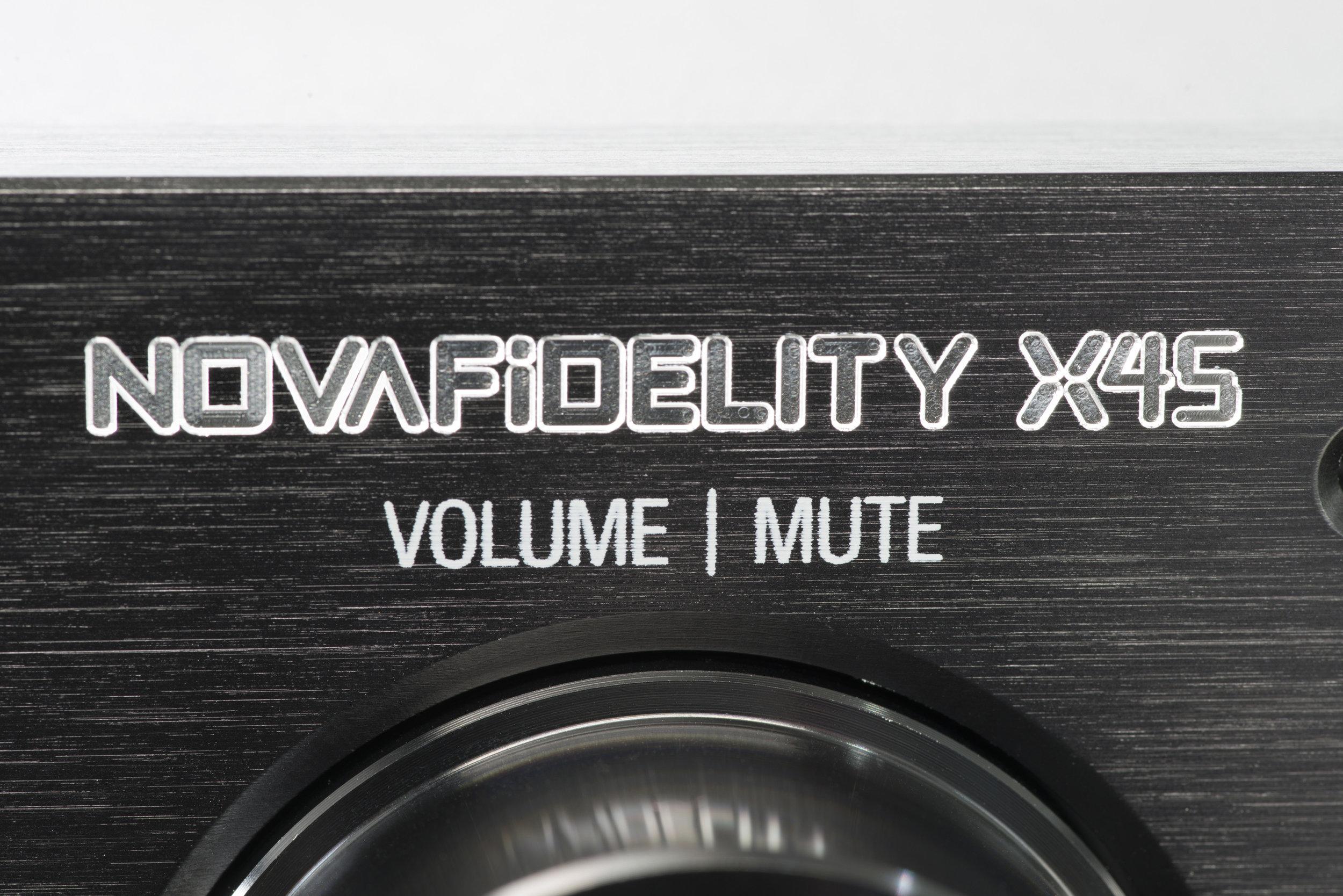 NOVAFIDELITY X45 STREAMER/DAC/RIPPER