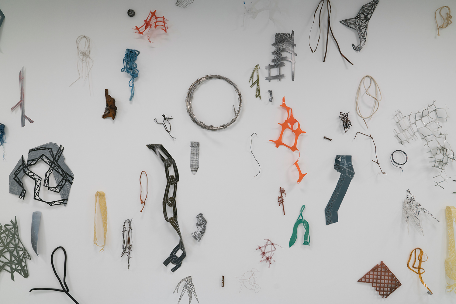 Installation view (detail):  Relics, Fibs, Trash, and Treasures ,   Hawthorn Contemporary, Milwaukee, WI, 2018