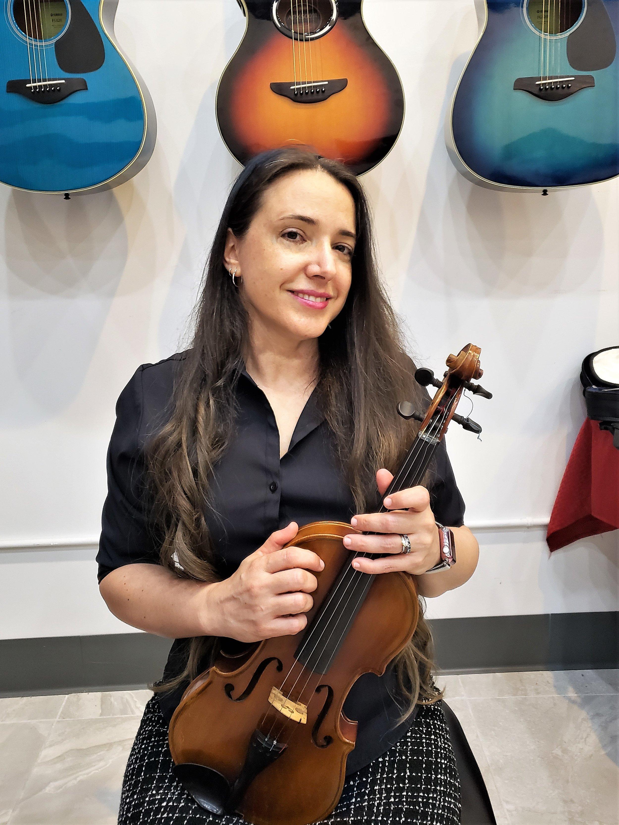 Susan  Violin, Cello
