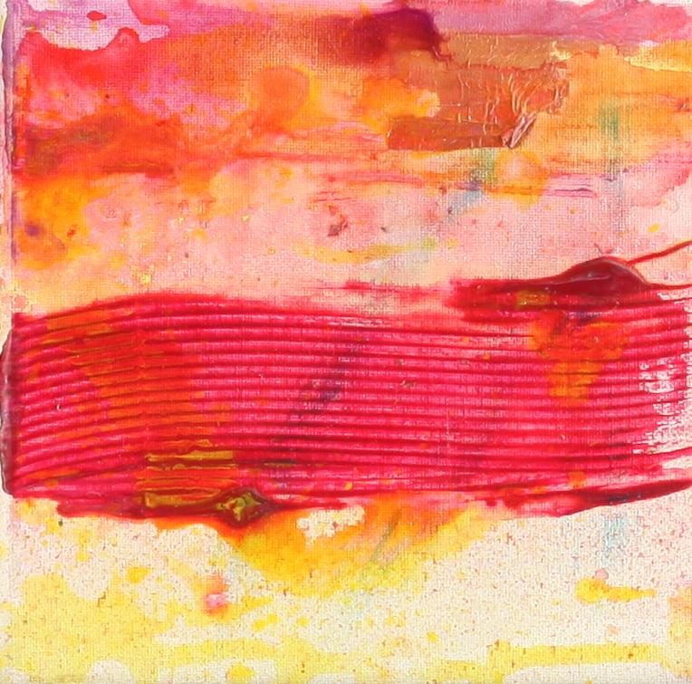 Horizontal Red Rib