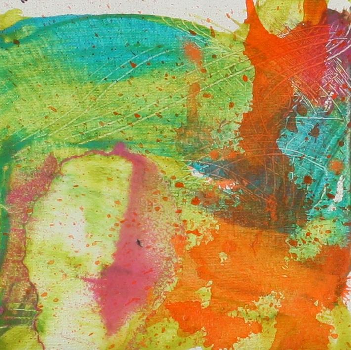 Wash Turquoise Splatter