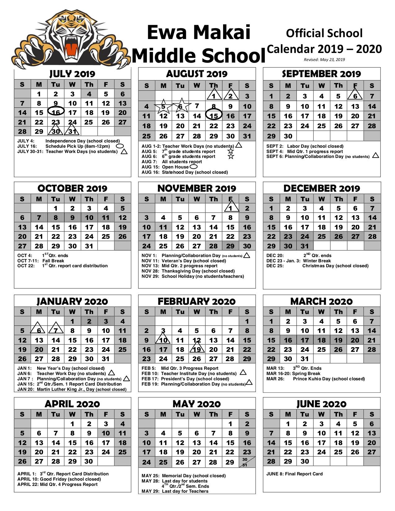 Ewa Makai Middle SY 2019-20 Calendar REVISED.jpg