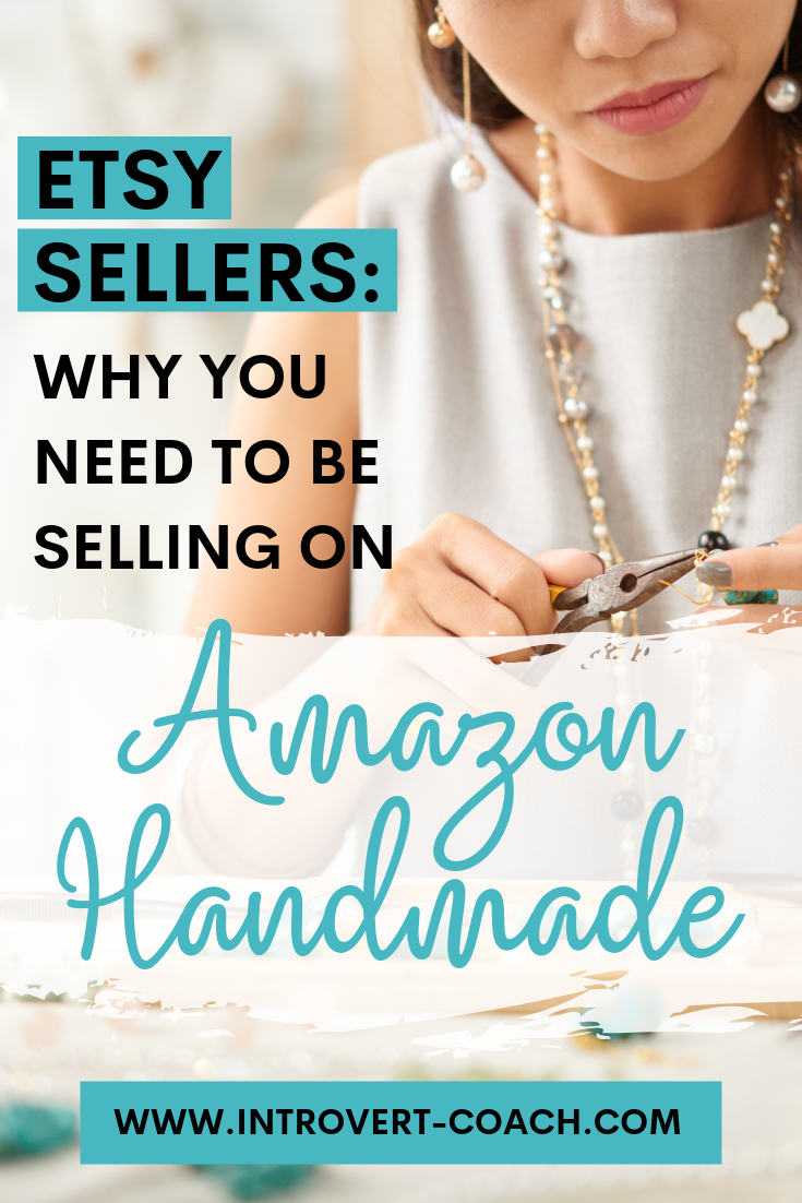 Etsy Sellers Selling on Amazon Handmade
