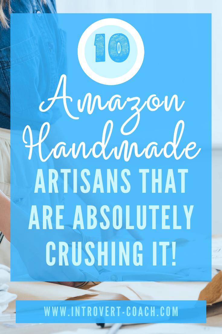 Amazon Handmade Artisans that are finding success