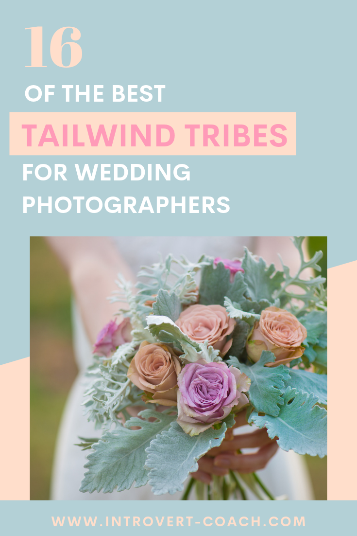 Tailwind Tribes for Wedding Photographers