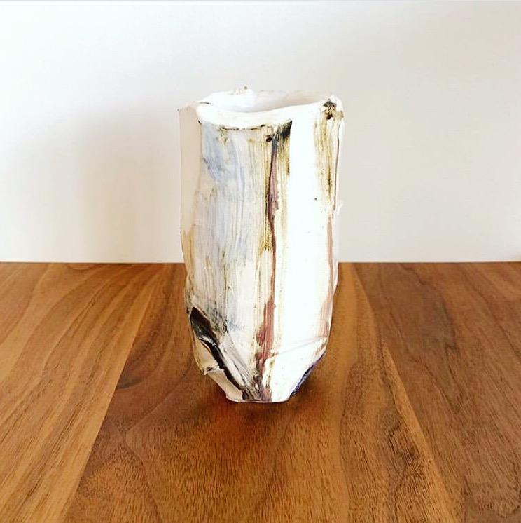 Tree Stone Vase