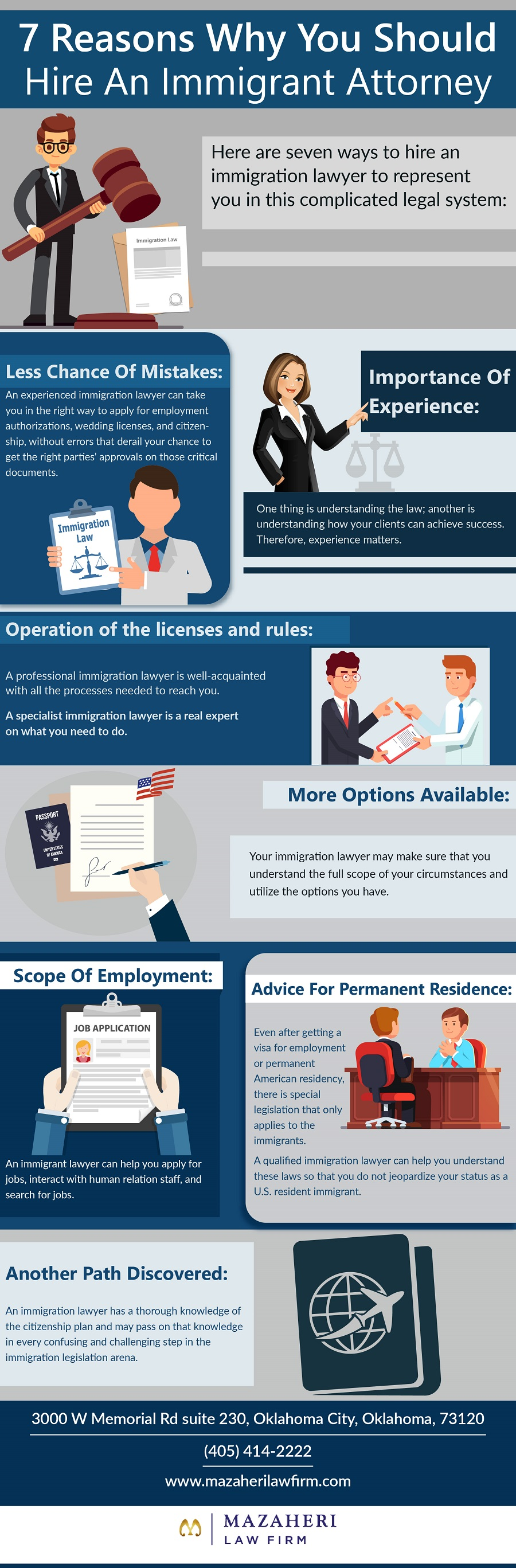7 Reasons Why You Should Hire An Immigrant Attorney