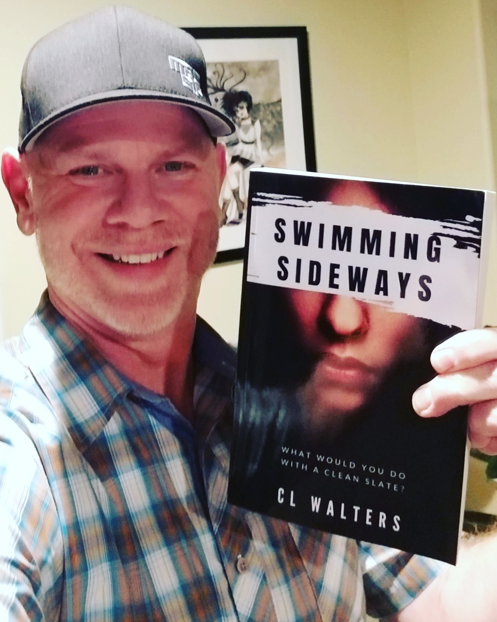 Mike Walters - also a novelist - and Swimming Sideways.