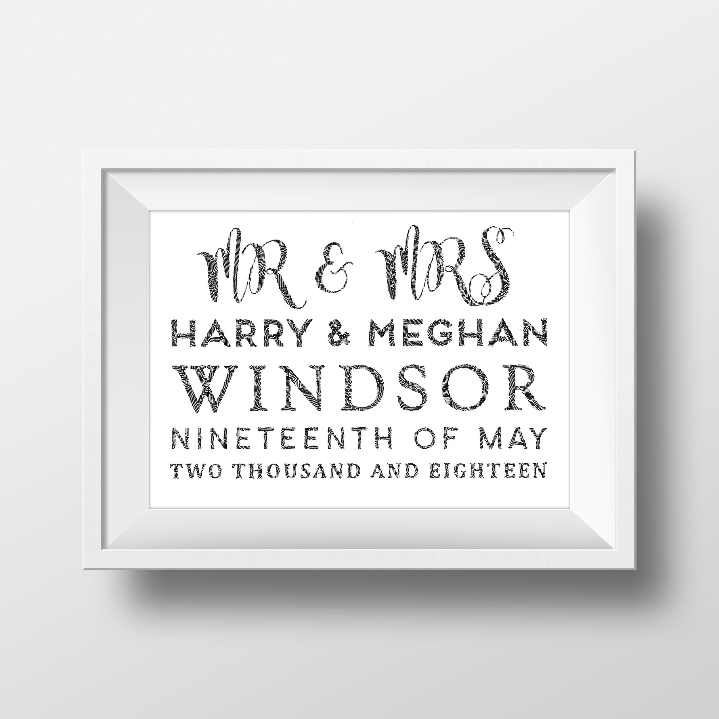 PERSONALISED GIFTS - The perfect wedding gift.