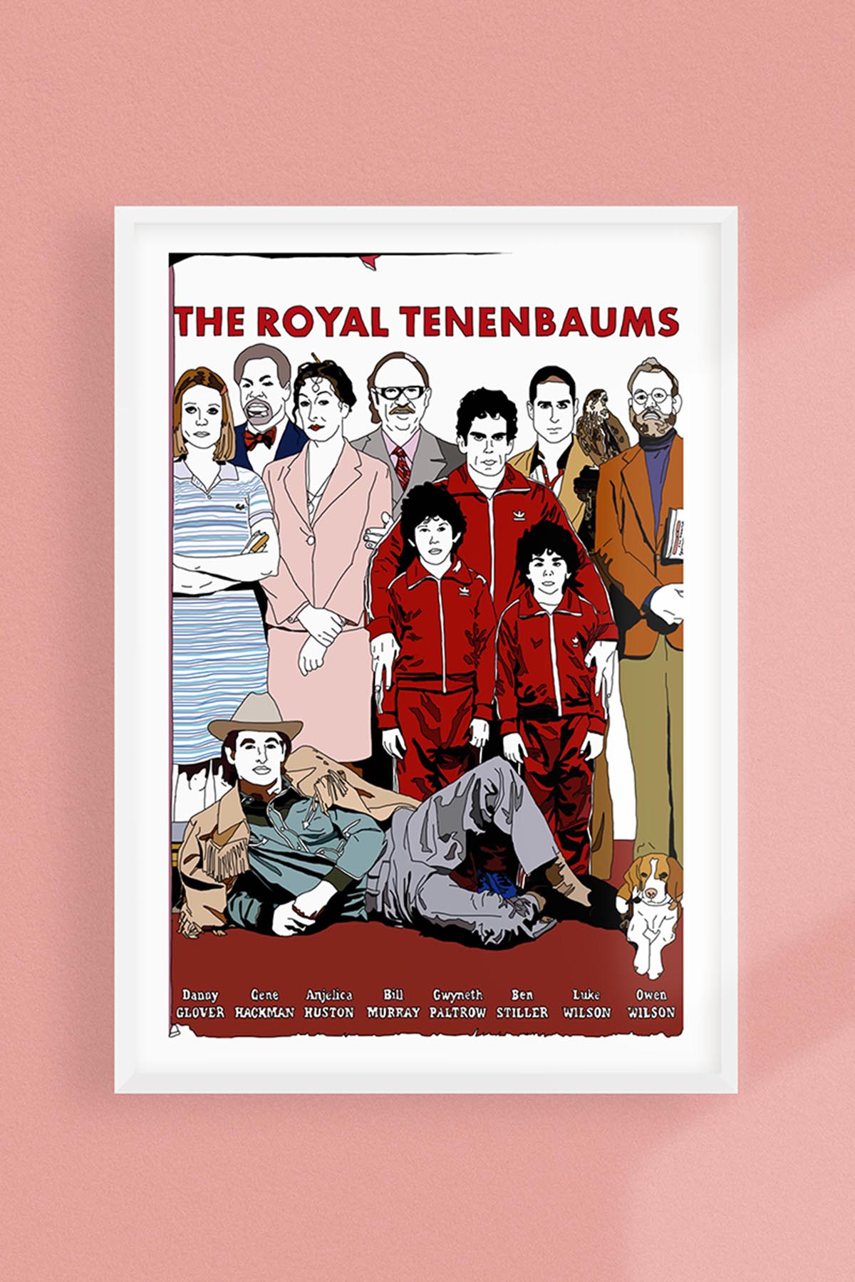 The Royal Tenenbaums Poster -