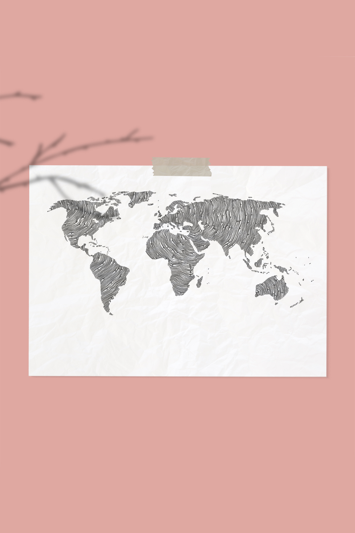 World Map Illustration -