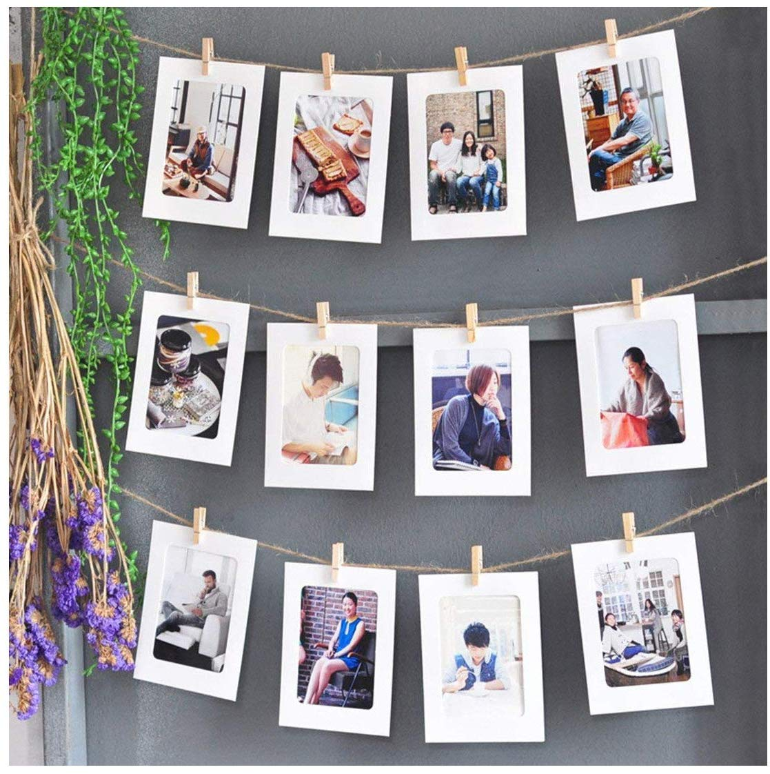 Photo Display String and Pegs