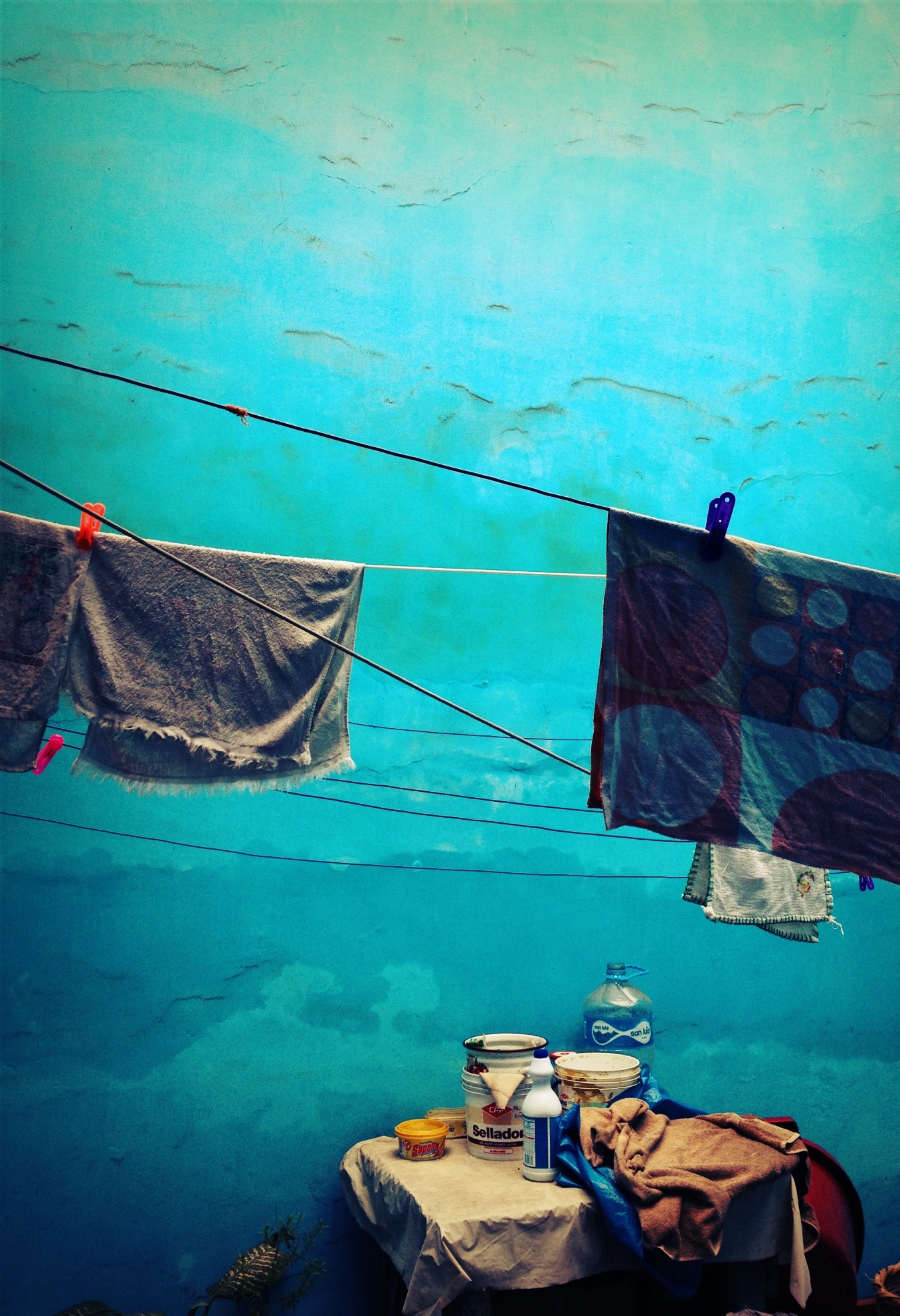 """Hanging Out to Dry"" by Claire Ibarra"